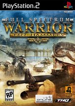 Full Spectrum Warrior Ten Hammers - PlayStation... - $3.96
