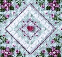 Spring Fantasy Teenie Tweenie cross stitch chart Sweetheart Tree
