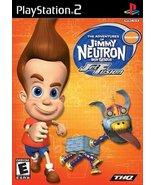 Jimmy Neutron Boy Genius: Jet Fusion (Playstation 2) [PlayStation2] - $6.02