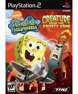 Spongebob Squarepants Creature from the Krusty Krab - PlayStation 2 [Pla... - $6.79