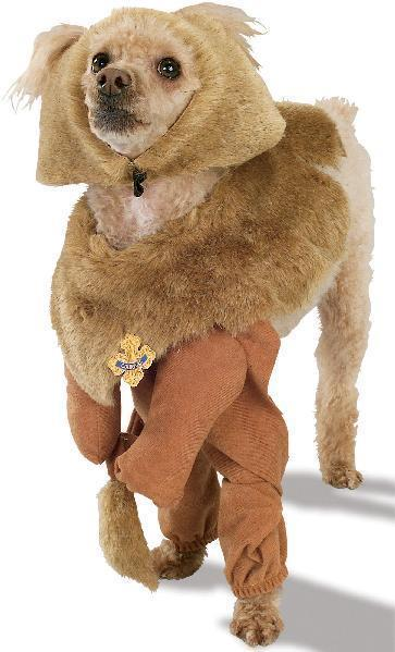 PET COSTUME WIZARD OF OZ LION COSTUME LARGE PET