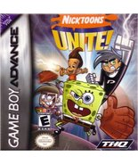 Nicktoons Unite! [Game Boy Advance] - $4.80