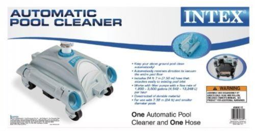 Intex Auto Above Ground Swimming Pool Cleaner Ping New Pool Cleaners Vacuums