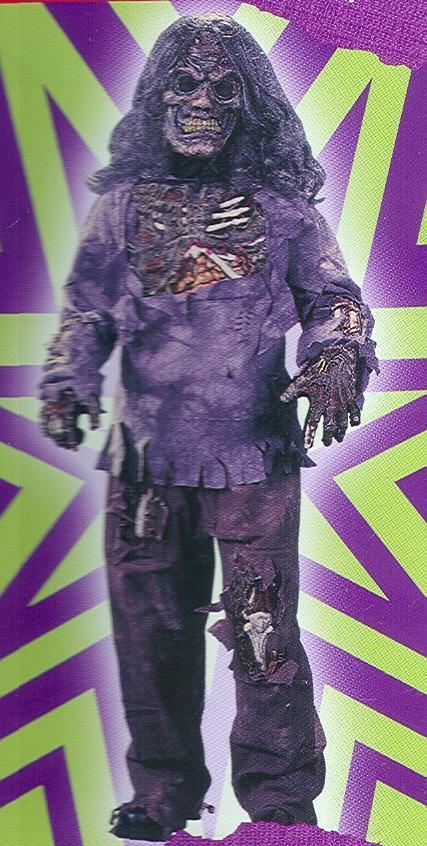ZOMBIE DELUXE COMPLETE costume 12/14 childs
