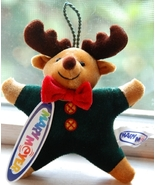 Mary Meyer Moose Plush Ornament (NEW) - $5.00