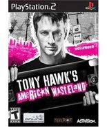 Tony Hawk's American Wasteland - PlayStation 2 ... - $5.63