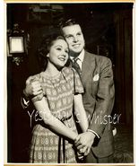 Barbara FULTON Glen BOLES Geary THEATRE ORG PHOTO J427 - $14.99