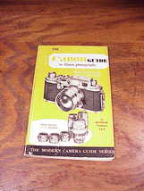 The Canon Guide to 35mm Photography Book, Kenneth Tydings, 1955, Hardback HB DJ  - $6.50