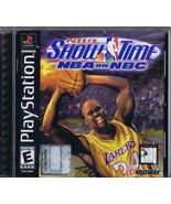 ORIGINAL Vintage 1999 Showtime NBA on NBC Playstation PS1 Game Shaquille... - $18.55