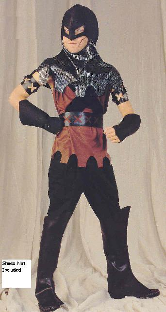 Henchman Medieval CHILD'S costume size 7-10