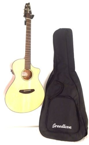 Breedlove Discovery Concert CE Acoustic Electric Guitar w/Bag - Blem #A931