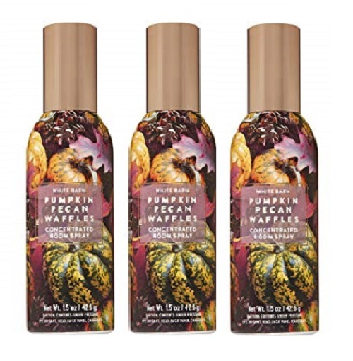 Primary image for White Barn Pumpkin Pecan Waffles Concentrated Room Spray 1.5 fl oz - Lot of 3