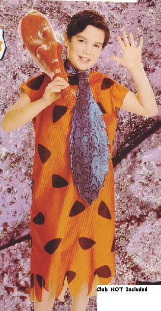 Flintstone's Fred Costume 4-6 CHILD'S SMALL