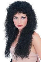 UNISEX WIG LONG BLACK CURLY  - $20.00