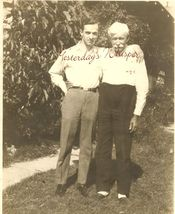UNKNOWN Father & SON Org DW PHOTO G32 - $9.99