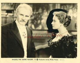 Peggy ASHCROFT Walter HOUSTON Rhodes GB PHOTO G534 - $9.99