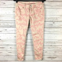 American Eagle Womens Jegging Pink Cream Size 2 Stretch Jeans - $18.68