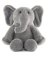 Kohl's Care Gray Elephant Plush 11.5 inches tall - $11.10