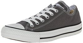 Converse Chuck Taylor All Star Ox Sneakers (4 Men 6 Women, Charcoal) - $60.89