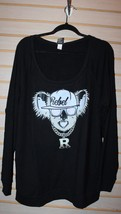 New Torrid Womens Plus Size 5X 5 Black Rebel Gangsta Koala Sweatshirt Shirt Top - $29.02