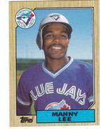 1987 Topps Manny Lee - $0.00