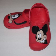 efaed3d6a Creative Crocs™ Mickey Mouse and Goofy Kids Boys Red Clogs Shoes J 2 -   24.99