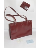 Authentic Prada Handbag with Wallet Barolo 1997 - $970.20