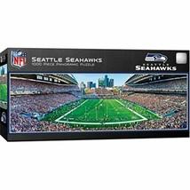MasterPieces NFL Seattle Seahawks Stadium Panoramic Jigsaw Puzzle, 1000 ... - $23.71