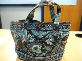 Vera Bradley Java Blue Retired Handbag Totes - $40.00