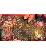 Peace Sign Coin Purse with BONUS GIFT - $3.00
