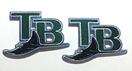 2 Tampa Bay Rays embroidered iron on patch. - $5.99