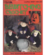 RARE~Bewitching Crochet Pattern Book~9 designs~Dated 1994~HTF - $34.99
