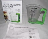 Multi-Function Digital Measuring Cup Scale with LCD Display & Temp Measurement
