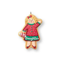Daughter - 2007 Hallmark Ornament - Gingerbread... - $10.39