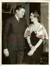 June COLLYER Stuart ERWIN Hollywood SOCIAL ORG PHOTO - $19.99