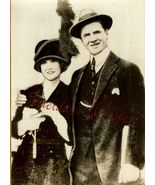 George BANCROFT Wife ORG INP Press PHOTO i190 - $9.99