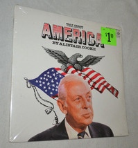 sealed spoken word 2 LP Alistair Cooke Talk About America Pye BBC 1974 A... - $12.98