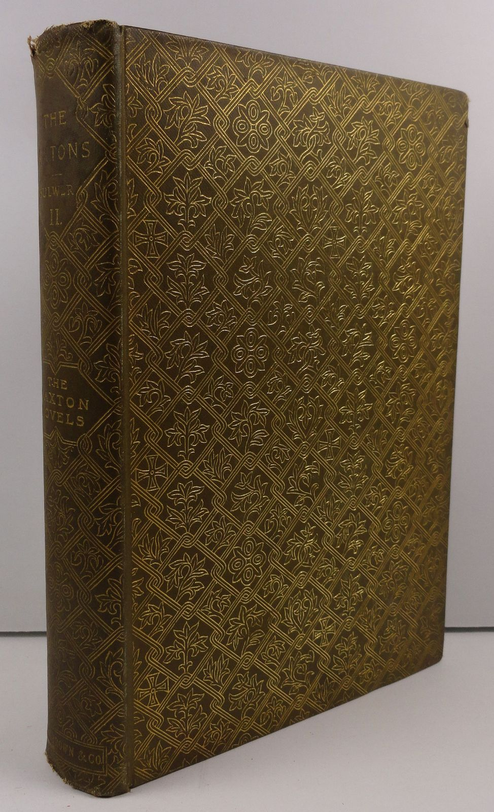 The Caxtons Edward Bulwer Lytton Volume 2 Little Brown 1892