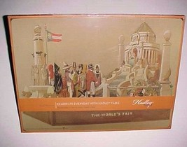 Hadley Table The World's Fair Set of 4 Placemats 11.5 x 15 Cork Backed New - $74.25