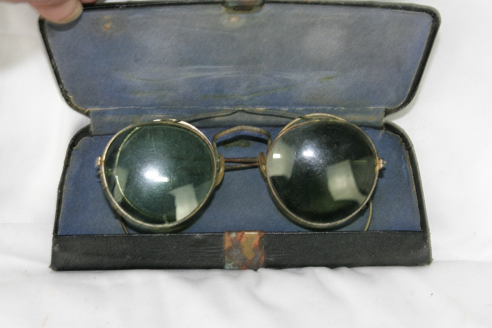 Primary image for Vintage Jenkel-Davidson Eyeglasses & Clip on Sunglasses Original Case