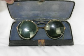 Vintage Jenkel-Davidson Eyeglasses & Clip on Sunglasses Original Case  - $55.36