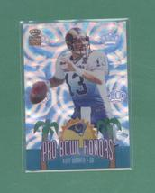 2002 Pacific Crown Royale Curt Warner Pro Bowl Rams - $1.50