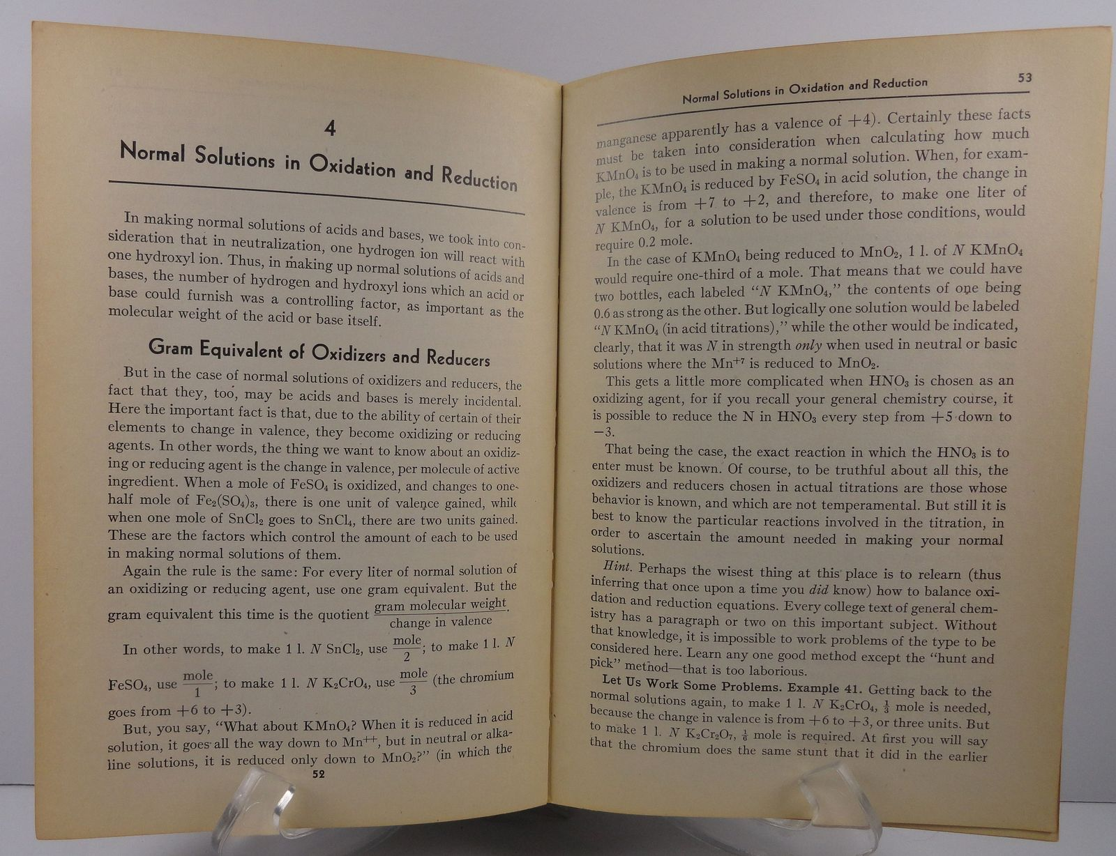 Problems in Quantitative Analysis by Saul B. Arenson 1948