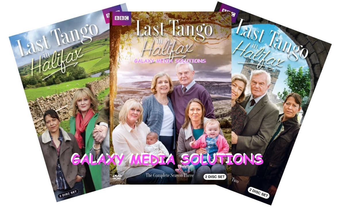 Last Tango In Halifax Season One-Three 1-3 DVD Bundle (6-Disc 2016) 1 2 3 BBC