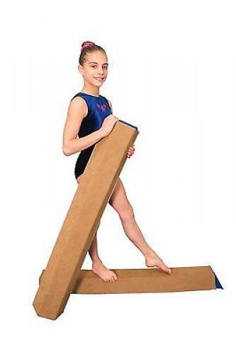 Tumbl Trak Sectional Floor Balance Beam Sports Gymnastics Equipment Accessories