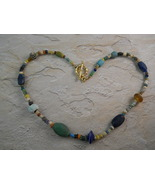 Necklace of Genuine Ancient Glass, Stone and Cl... - $250.00