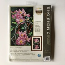 Dimensions Chickadee Perch Counted Cross Stitch Kit 70-35268 new - $33.81