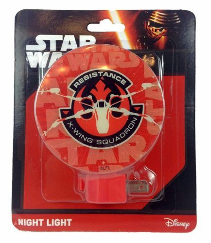 Star Wars Resistance X-Wing Squadron Night Light Disney New in Sealed Package
