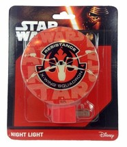 Star Wars Resistance X-Wing Squadron Night Light Disney New in Sealed Pa... - $6.79