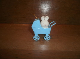 Avon Spring Bunny Collection , Bunny In A Blue Carriage - $3.00